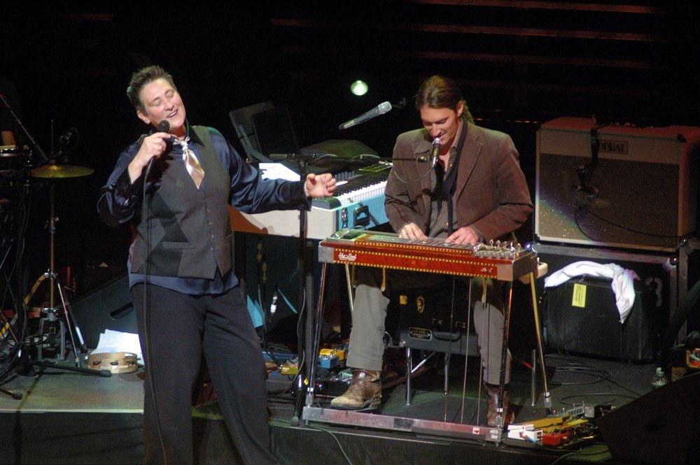 With kd lang