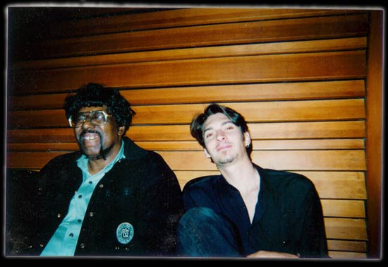 With James Gadson