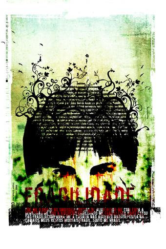 """""""Criança"""" 180x135cm Digitale Kunst 2008 3,500.-"""