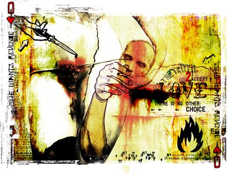 """Decapitado"" 180x135cm Digitale Kunst 2008 4,500.-"