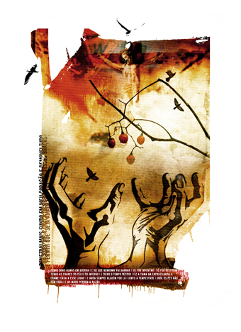 """Maos"" 180x135cm Digitale Kunst 2008 4,500.-"