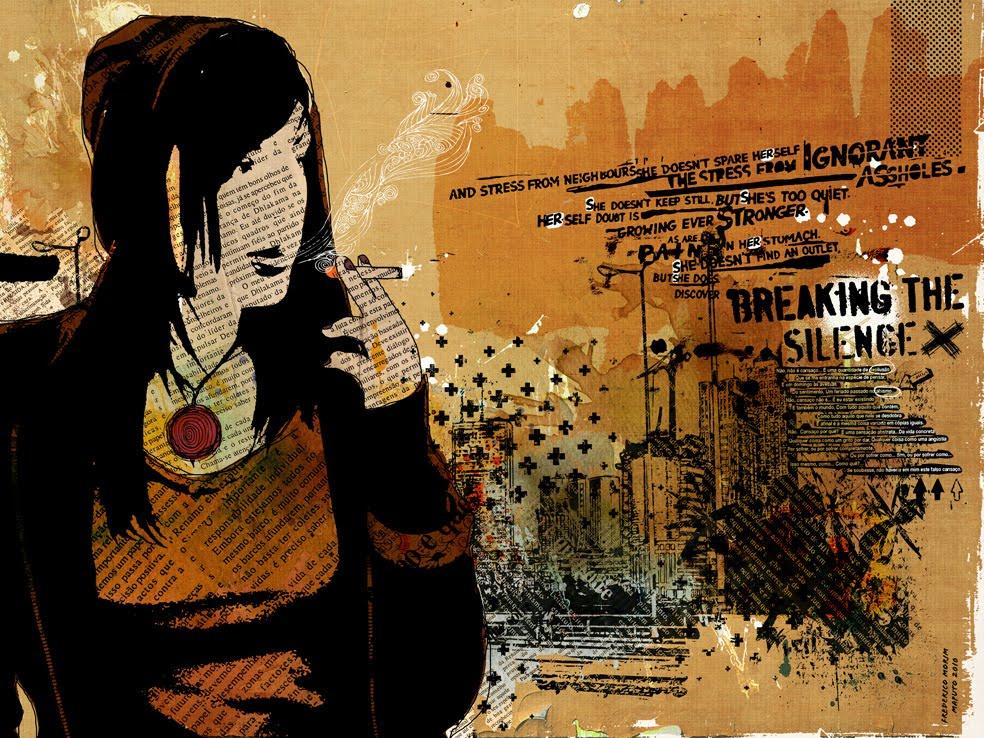 """Mulher"" 180x135cm Digitale Kunst 2008 3,500.-"