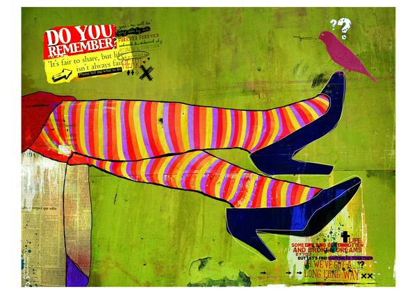 """Pernan Cruzadas"" 120x90cm Digitale Kunst 2008 1,800.-"