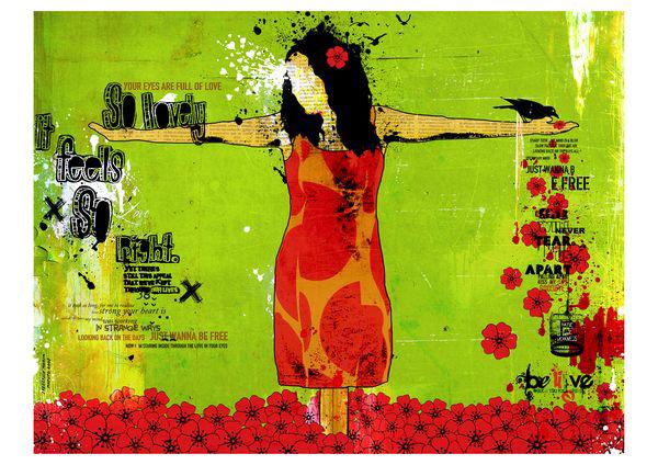 """Espantalho"" 180x135cm Digital Kunst 2008 3,500.-"