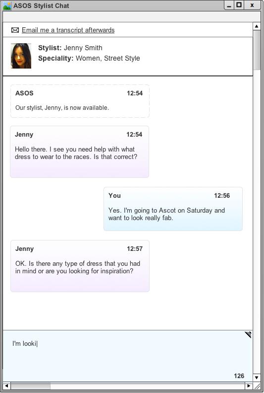 ASOS Stylist Chat