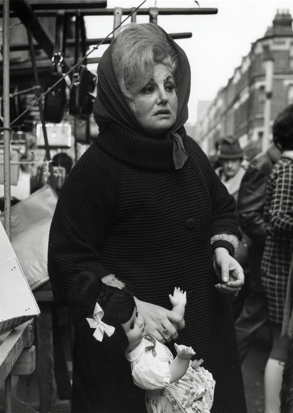 Market Stall, Islington, London, 1960's ©Dorothy Bohm