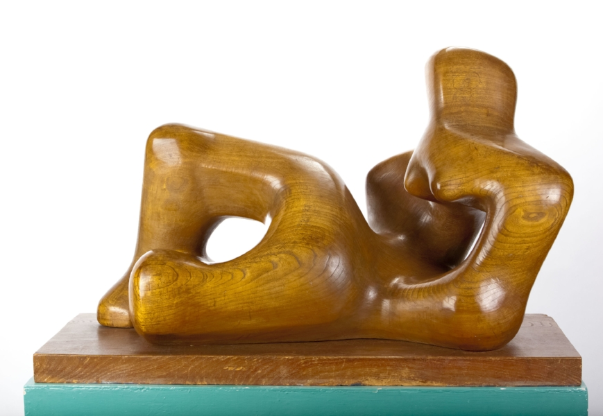 Henry Moore, Reclining Figure, 1932.  The Hepworth Wakefield (Wakefield Permanent Art Collection). Courtesy The Hepworth Wakefield. Photography: Jonte Wilde