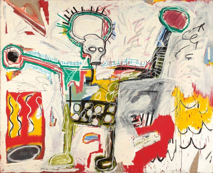 Courtesy Museum Boijmans Van Beuningen, Rotterdam. © The Estate of Jean-Michel Basquiat. Licensed by Artestar, New York. Photo: Studio Tromp, Rotterdam