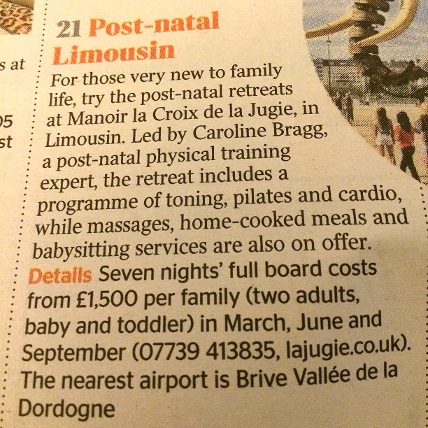 The Times Top 50 France Holidays, January 2016