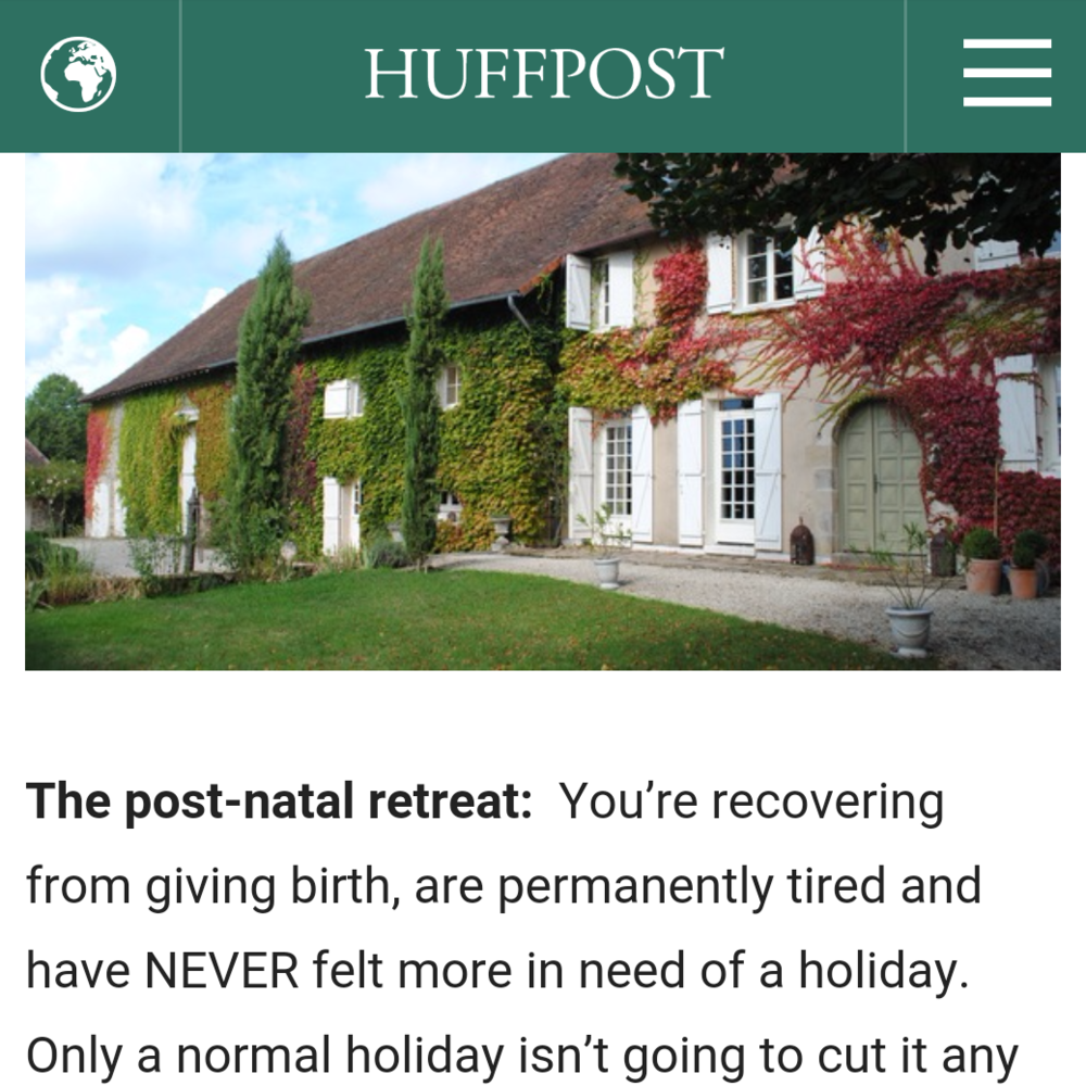 Huffington Post, April 2016