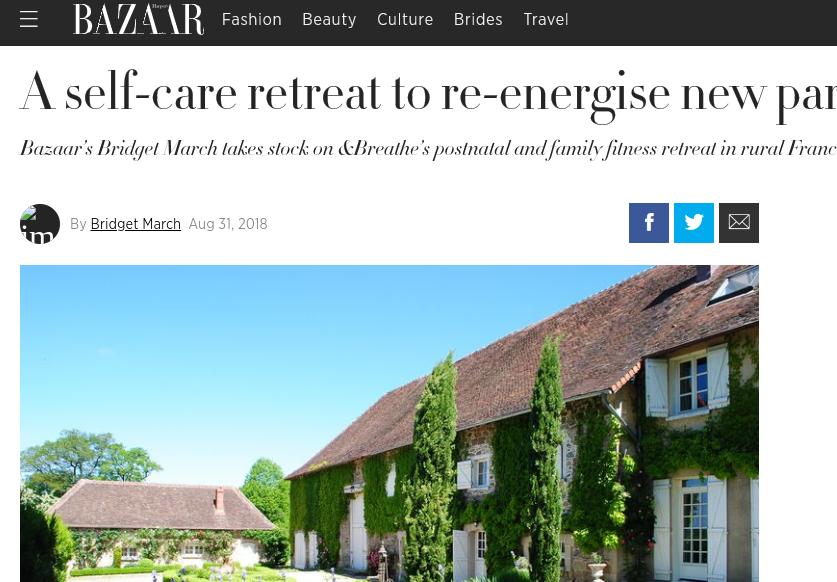 Harpers Bazaar UK, August 2018