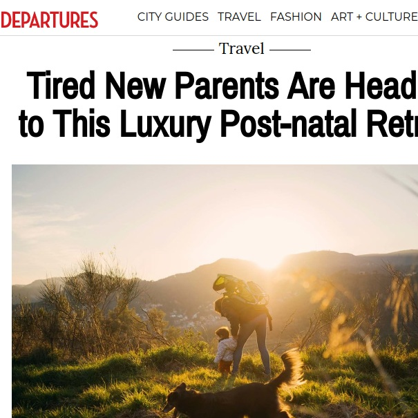 Departures Magazine,  November 2018