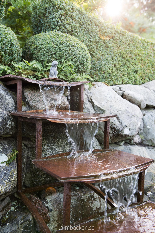 """""""Vattentrappa"""" designad och tillverkad av Lars. Så vacker!"""