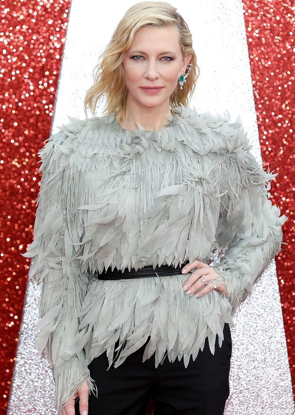 Cate Blanchett, Oceans 8 Premiere 2018 - Nails by  Morena Sanguigni