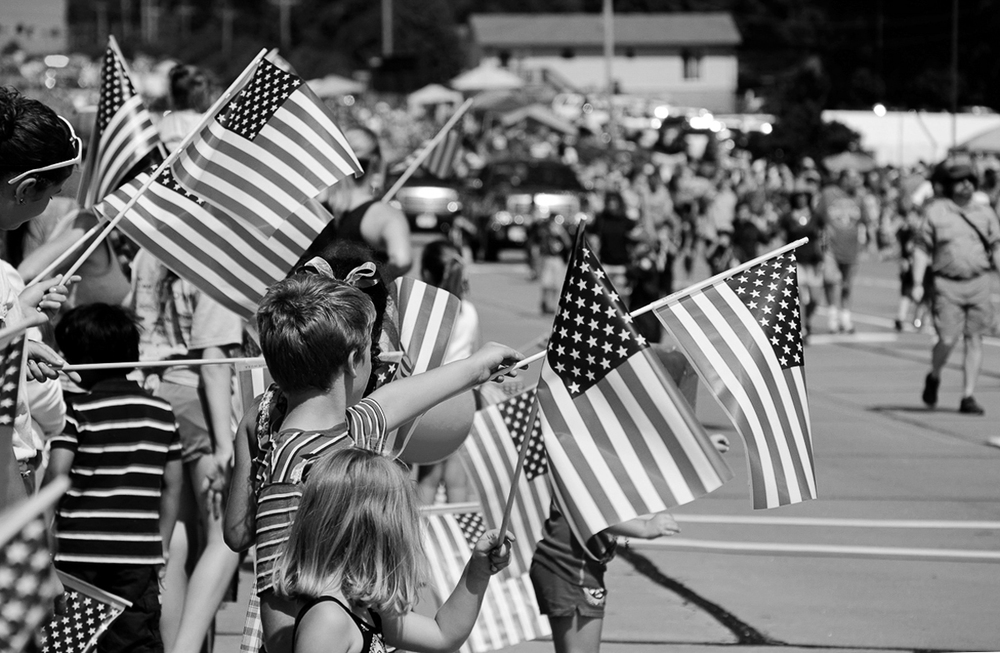 Kids_with_Flags_b&w.jpg