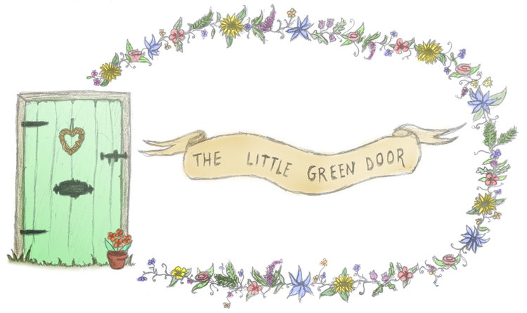 the little green door
