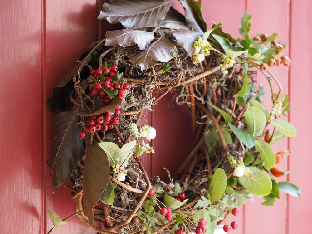 The Stitchery Studio Autumn Wreath