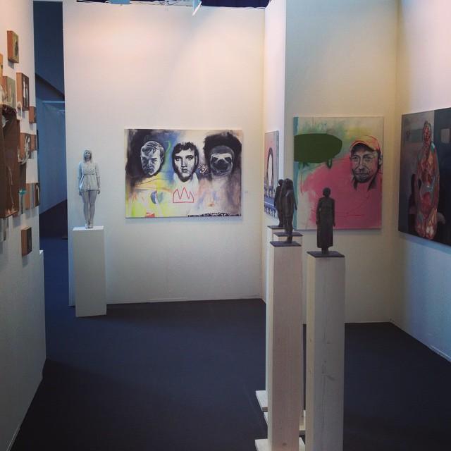 Messestand  'Schacher-Raum für Kunst'