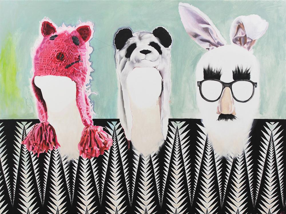 Schweinchen, Panda, Groucho