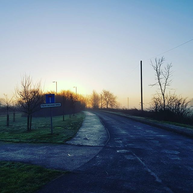 Picked up the last of our trees for 2018 from a local farm at sunrise this morning. Fresh trees for our last weekend. A few of our sites will sell out today, so get yourselves down before it's too late!! 🌲👑 . . . . #locallygrown #buylocal #locallysourced #ukgrown #homegrown #madeintheuk #britishbeauty #realchristmastree #wetreekings #christmasdelivered #warwickshire #sunrise #seizetheday