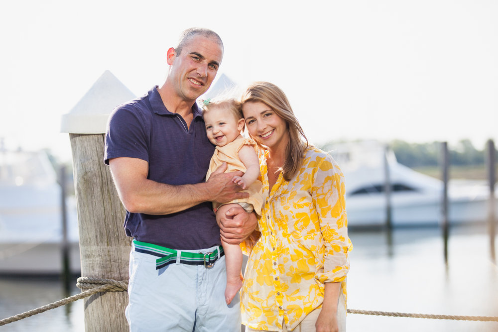 Family Engagement Session Cape May New Jersey Nautical Docks What to Wear