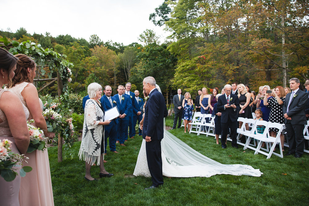 Danielle Salerno Photography Ceremony Outdoor Wedding
