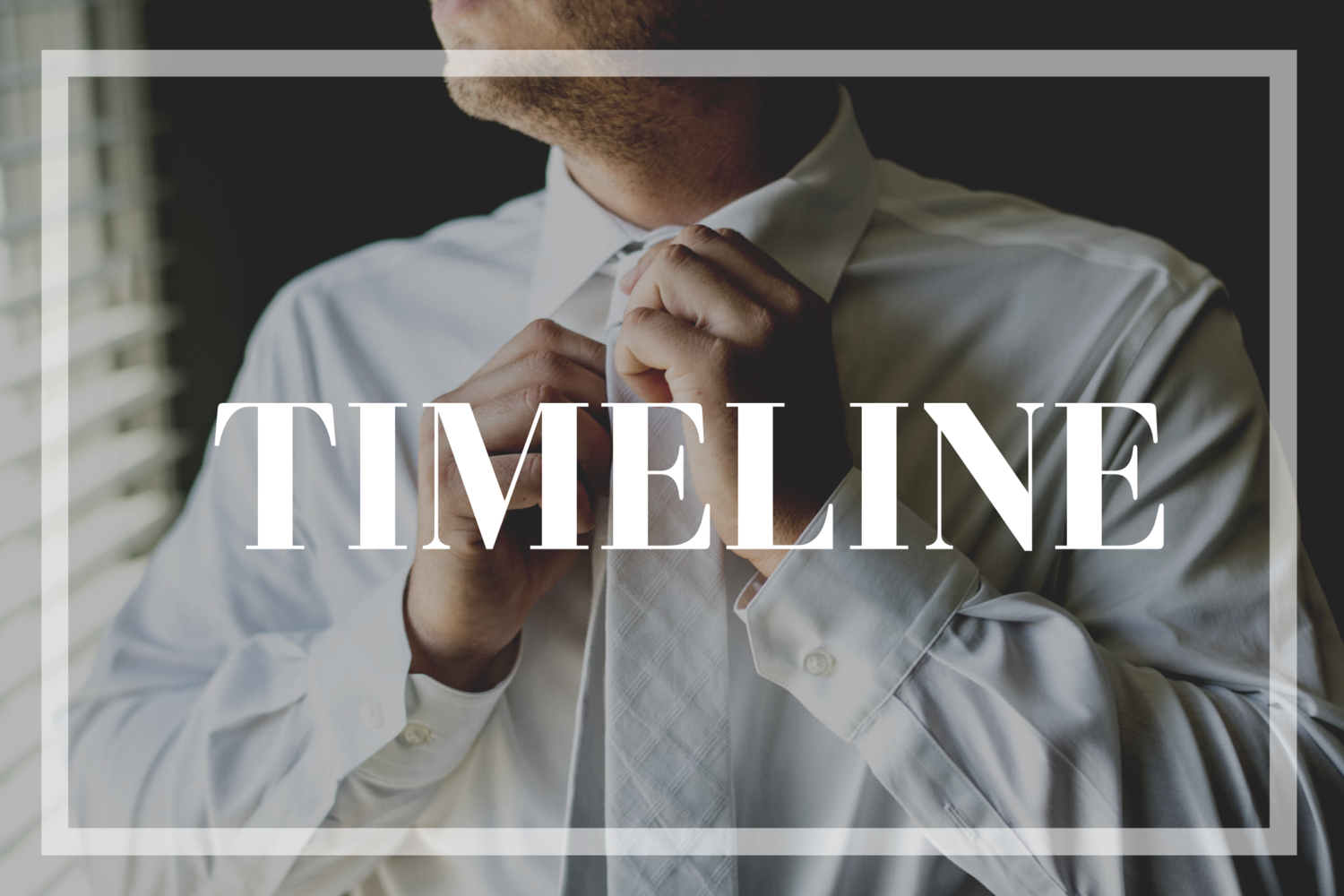How To Construct A Killer Wedding Day Timeline Danielle