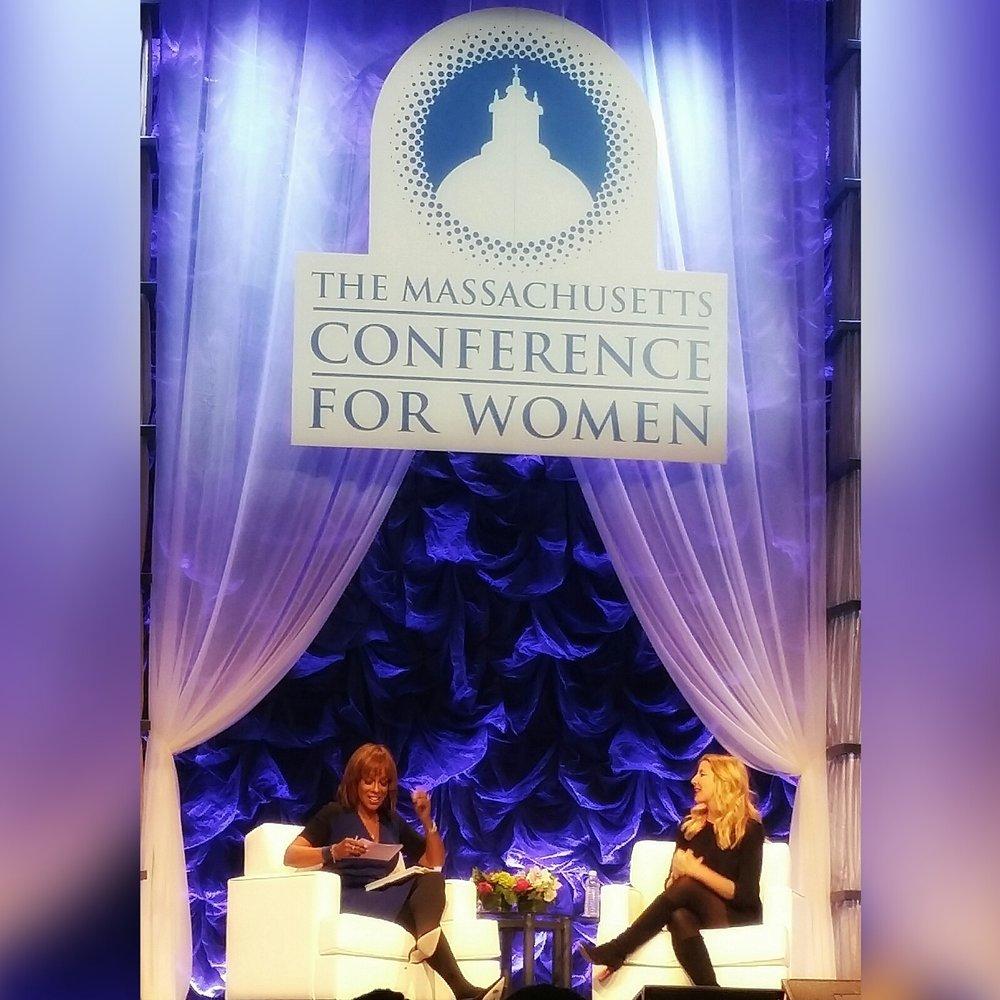 MassWomen Conference - Gayle + Sara