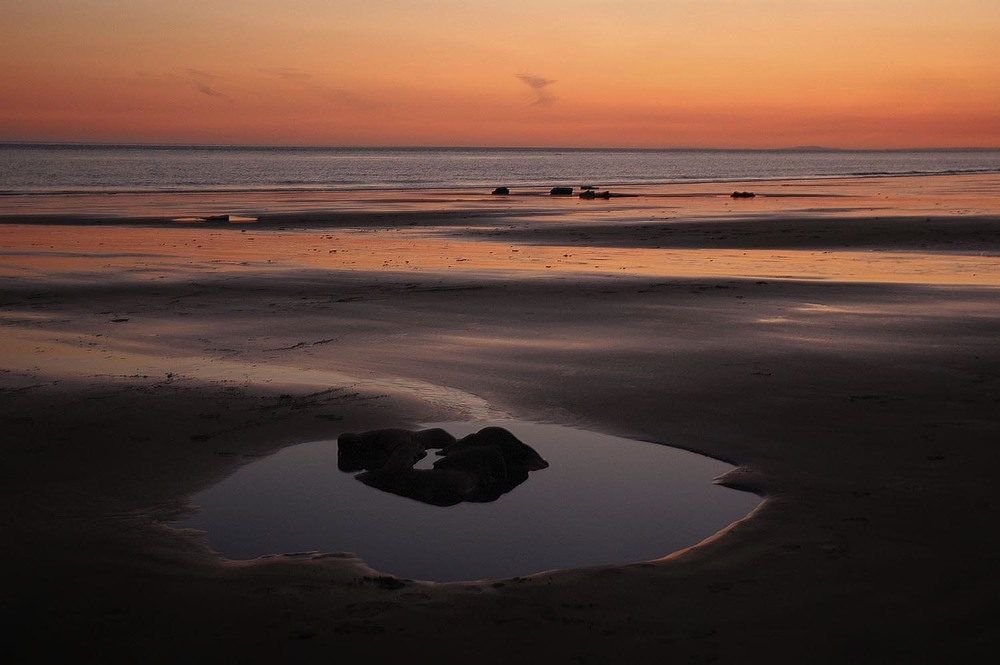 Sunset - Nash Point Beach, Wales