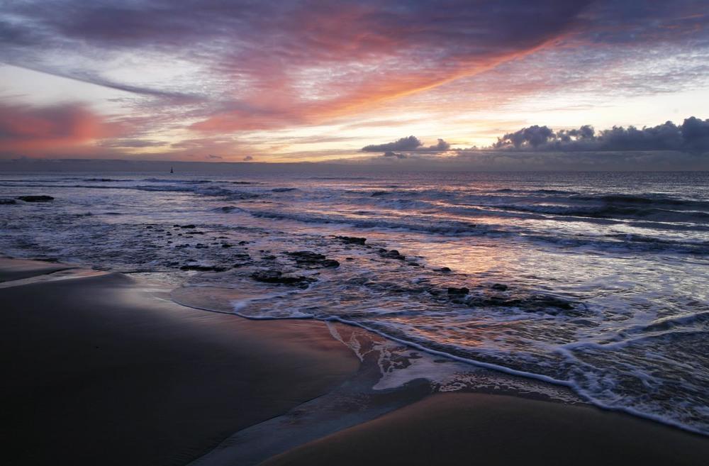 Sunrise - Nash Point, Wales