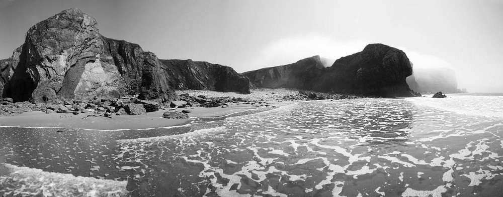Morning mist - Bull Slaughter Bay, Wales