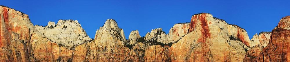 Towers of the Virgin - Utah, USA