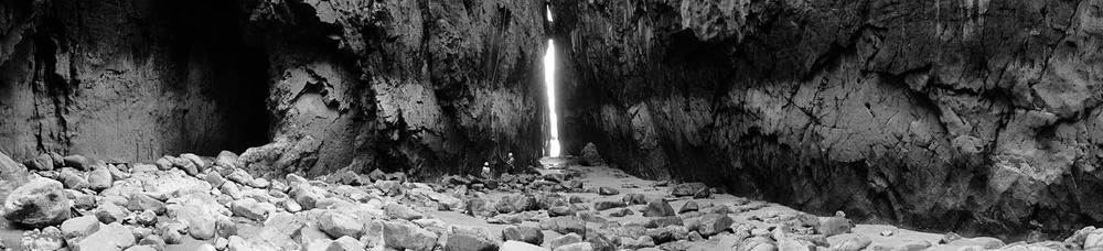 Through the gap - Pembrokeshire, Wales