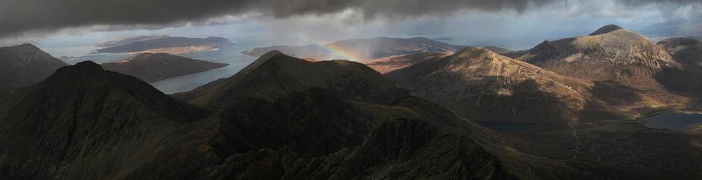Rainbow - Bla Bheinn, Scotland