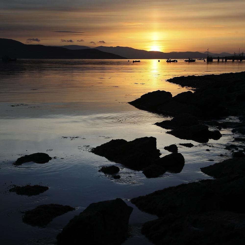 Sunrise - Loch Sligachan, Scotland