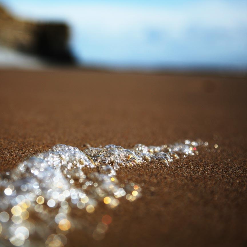 Sea Foam - Nash Point Beach, Wales