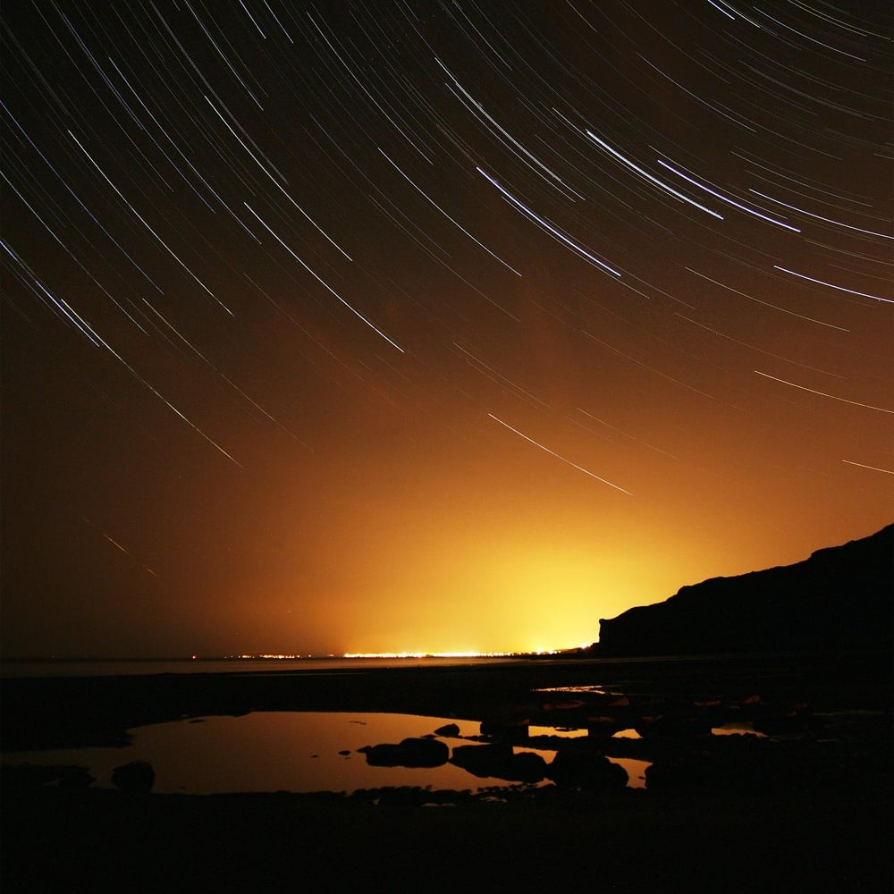 Star Trails - Nash Point