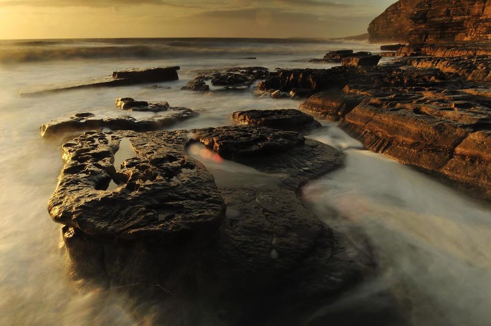 Evening Light - Southerndown Beach, Wales