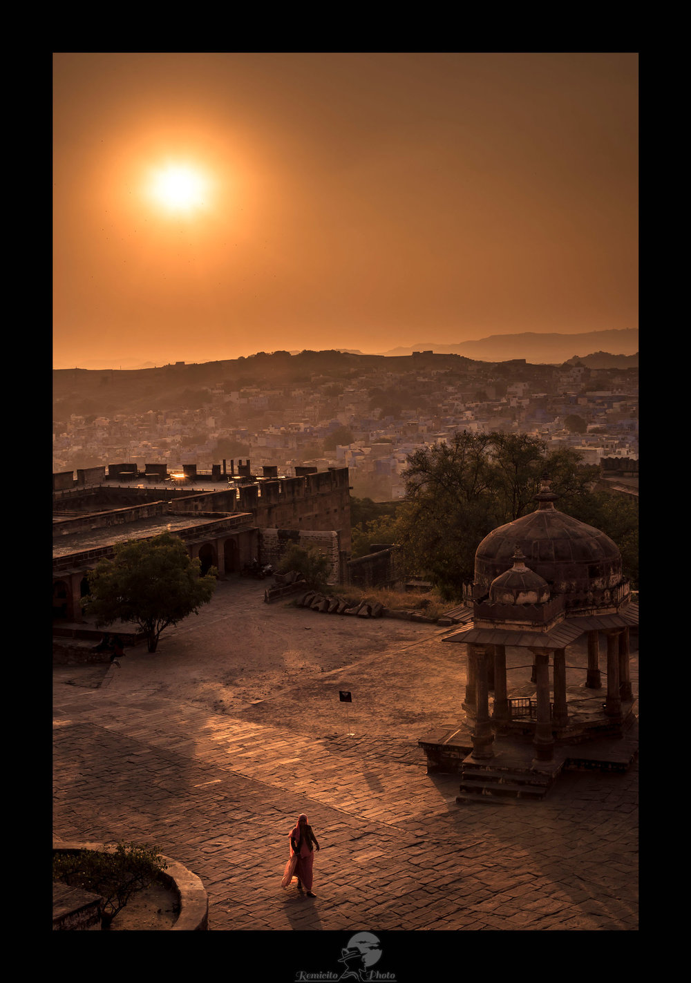 remicito photo, image du jour, photo du jour, photo of the day, coucher de soleil, photo coucher de soleil, photographe français, french photographer, fotografo francés, photo Jodhpur, coucher de soleil Inde, sunset India, sunset jodhpur, idée cadeau, landscape photographer, photographe de paysage, travel photography, photographe de voyage