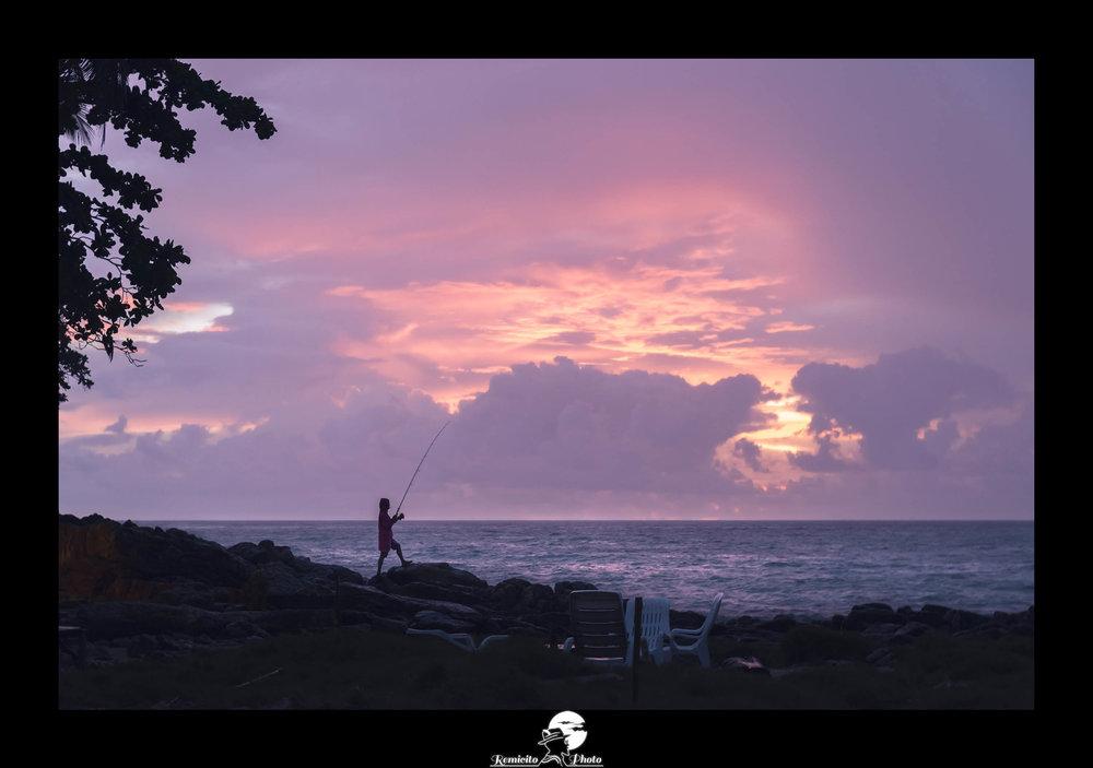 remicito photo, image du jour, photo du jour, photo of the day, photo coucher de soleil, coucher de soleil Thaïlande, sunset in Thailand, fisherman, sunset fisherman, idée cadeau, idée déco