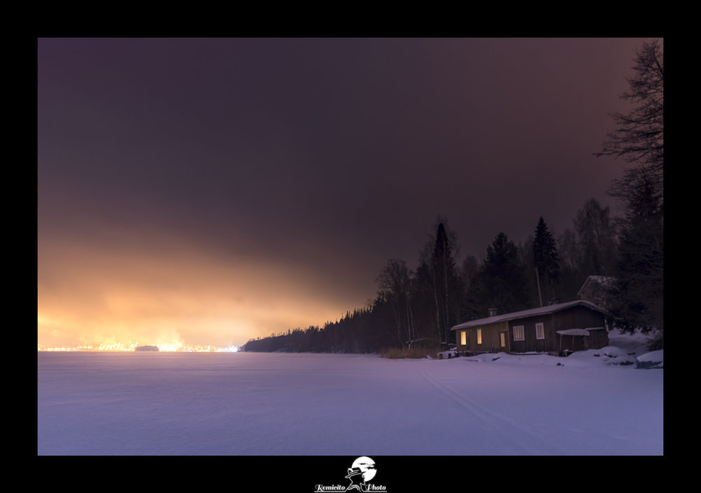 remicito, remicito photo, image du jour, maison du père noël, santa claus house, belle photo lac glacé finlande, frozen lake finland, Ruokolahti finland, idée cadeau belle photo