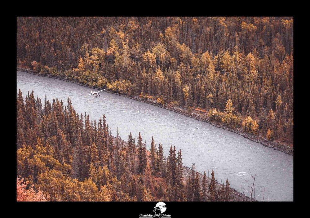 remicito photo, remicito, image du jour, photo du jour remicito, belle photo avion alaska, avion rivière forêt alaska, nature sauvage alaska belle photo, belle photo idée cadeau