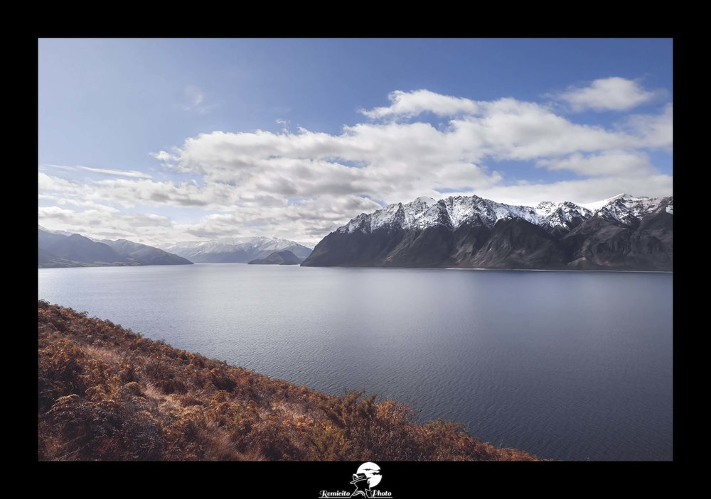 Remicito photo, remicito rémi lacombe photographe paris, belle photo voyage nouvelle zélande lac montagne, idée cadeau belle photo montagne lac