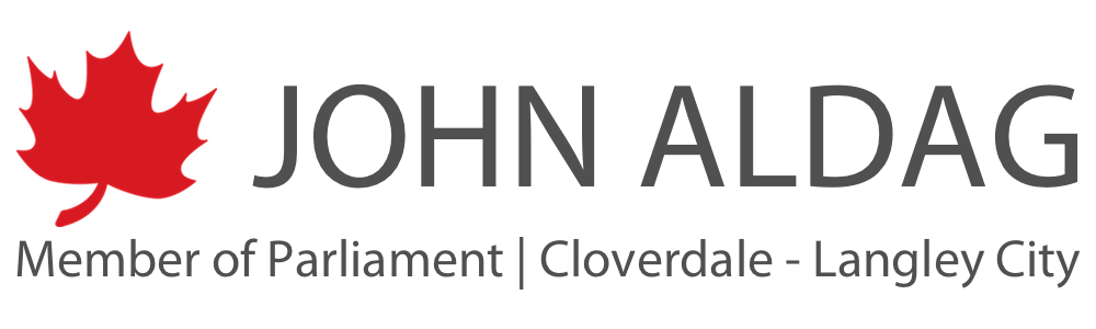 John Aldag | Member of Parliament for Cloverdale - Langley City