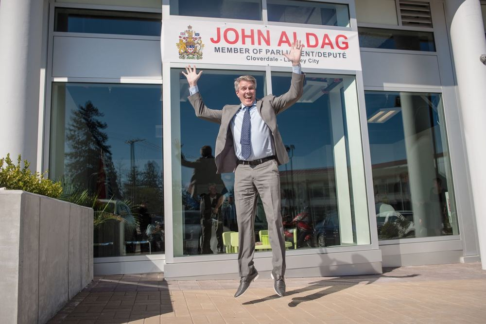 The John Aldag MP Cloverdale - Langley City constituency office officially opened on March 31, 2016