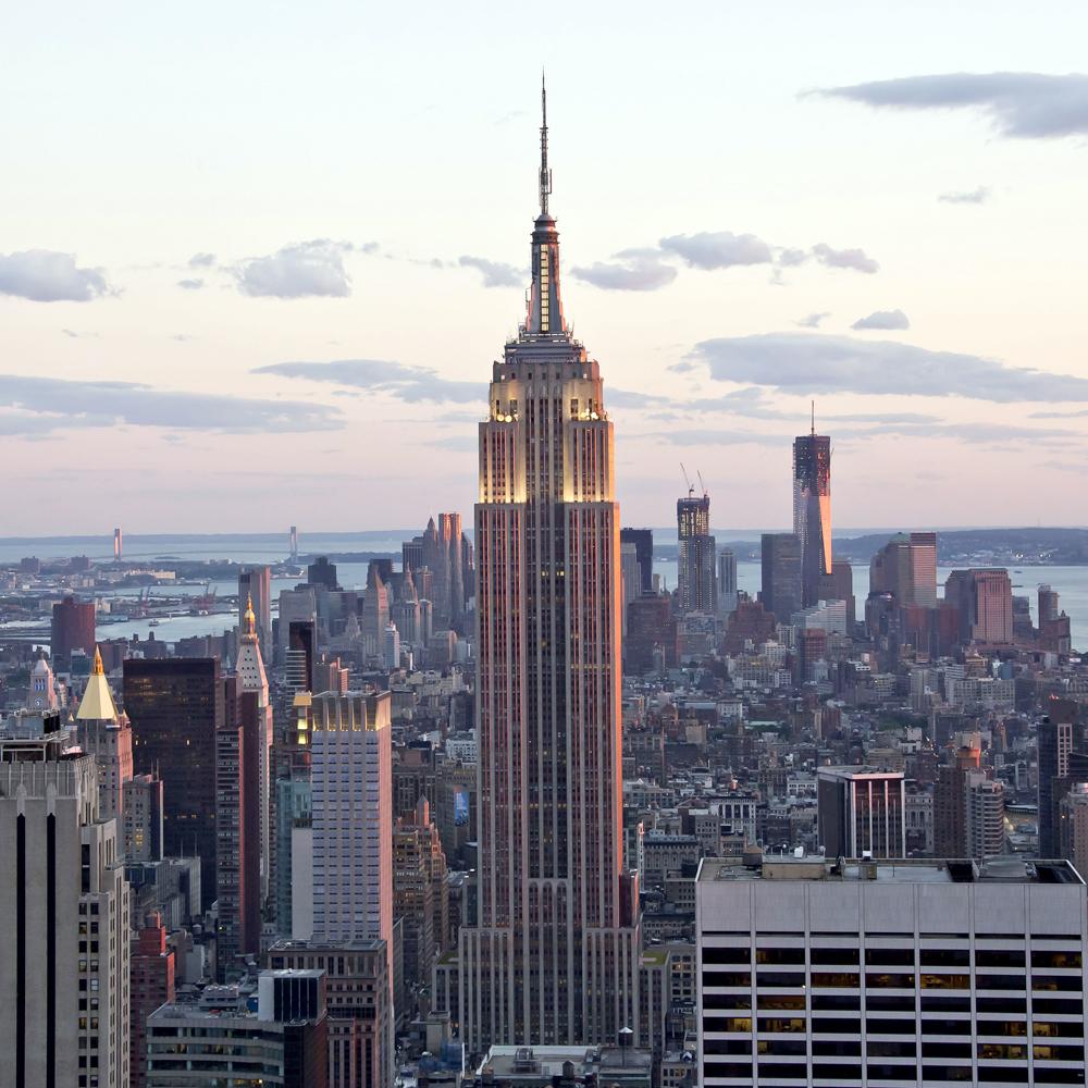 09-E The Empire State Building - $95
