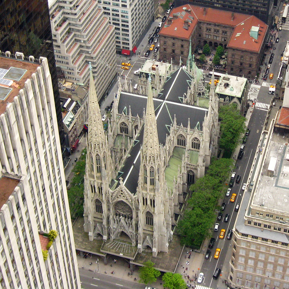 10-F St. Patrick's Cathedral - $125