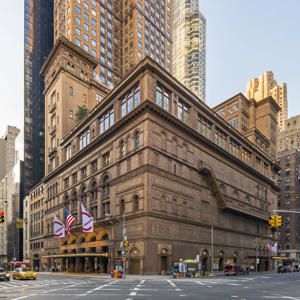11-E Carnegie Hall - $95