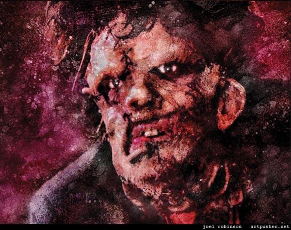 Bill Johnson as Leatherface by Joel Robinson www.artpusher.net.jpg