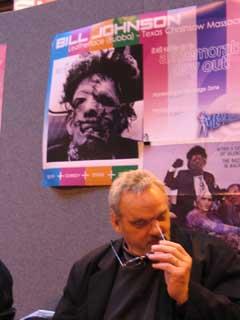 Bill at Memorabilia UK 2005.jpg